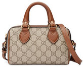 Gucci GG Supreme Mini Top-Handle Satchel Bag, Cognac/Multi