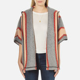 Maison Scotch Women's Hooded ThrowOn Jacket - Multi