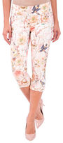 Lola Jeans Michelle Mid-Rise Pull-On Capri Jeans
