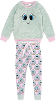 Peter Alexander peteralexander Girls Happy Monster Pj Set