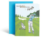 Marks and Spencer Golf Birthday Card