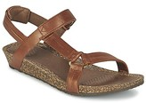 Teva YSIDRO UNIVERSAL - METALLIC women's Sandals in Brown