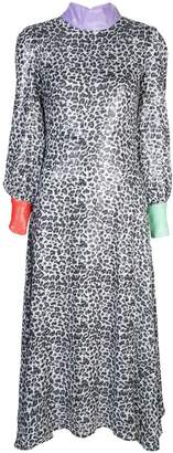 Olivia Rubin leopard print shift dress