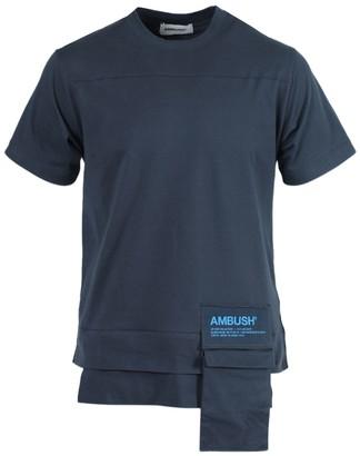 Ambush New Waist Pocket T-shirt Blue