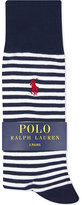 Polo Ralph Lauren Striped cotton socks pack of three