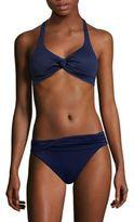 Shoshanna Twist Halter Bikini Top