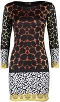 VIP Womens Plus Size Leopard Print Nicky Minaj Dress (MTC) ((us) (uk 16/18), )