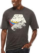 Novelty T-Shirts Star Wars Darth Vader Short-Sleeve Graphic Tee - Big & Tall