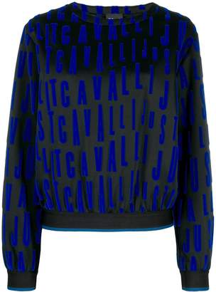 Just Cavalli repeat logo jumper