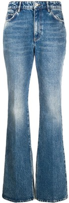 ATTICO High-Rise Flared Jeans