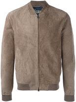 Herno zipped bomber jacket