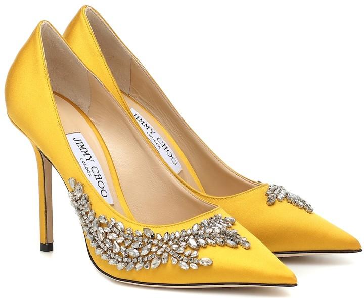 Jimmy Choo Yellow Pumps | Shop the
