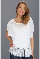 Karen Kane Fringe Tape Yarn Sweater Women's Sweater