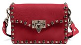 Valentino 'Rockstud Rolling' Guitar Strap Shoulder Bag - Red