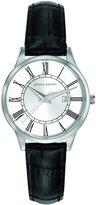 Pierre Cardin Women's 30mm Leather Band Steel Case Quartz Watch Pc901732f01
