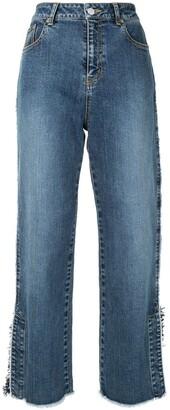 Coohem Fringe Denim Jeans