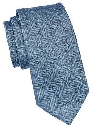 Emporio Armani Textured Silk Tie