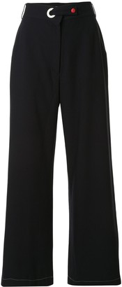 Goodious High-Rise Wide Leg Trousers