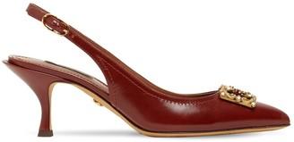 Dolce & Gabbana 60mm Leather Sling Back Pumps