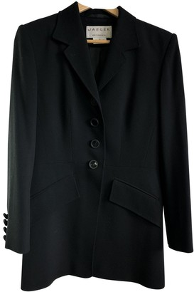 Jaeger Black Wool Jacket for Women Vintage