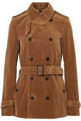 Saint Laurent Double-breasted Cotton-corduroy Jacket