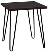 Design Studio A Maxwell Retro End Table, Espresso