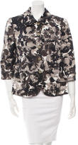 Piazza Sempione Printed Three-Quarter Sleeve Jacket