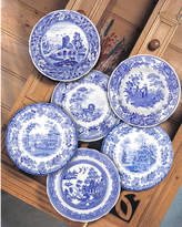 Spode Blue Room Set Of 6 10.5In Traditions Dessert Plates