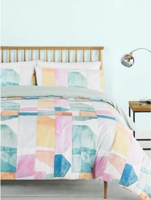 M&Co Colour block duvet set