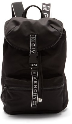 Givenchy 4g-webbing Technical Backpack - Black White
