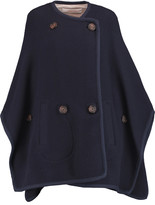 See by Chloe Ribbed wool-blend cape