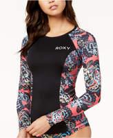 Roxy Long-Sleeve Rash Guard Women's Swimsuit
