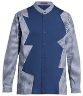 Christopher Kane Long-sleeved checked shirt