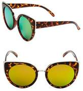 Fantas-Eyes 55MM Cat Eye Sunglasses