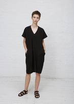 Zero Maria Cornejo black asi dress