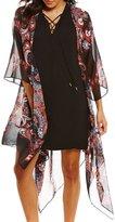 Gibson & Latimer Printed Kimono