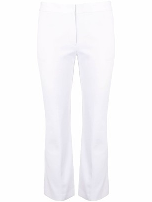 Theory Cropped Cotton Trousers