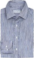 Etro Wave-print regular-fit linen shirt
