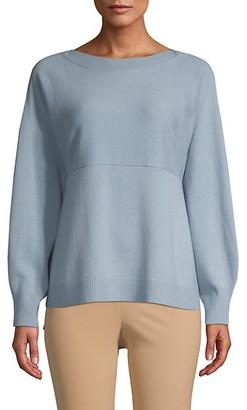Vince Side-Slit Wool Cashmere Sweater
