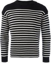 Saint Laurent classic marinière knitted sweater