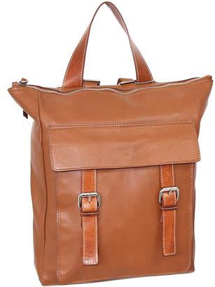 Nino Bossi Handbags Women's Backpacks Cognac - Cognac Ainsley Leather Backpack