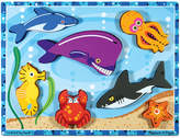 Melissa & Doug Kids Puzzle, Sea Creatures Chunky Puzzle