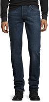 Tom Ford Slim-Fit Selvedge Harrison Wash Denim Jeans, Blue