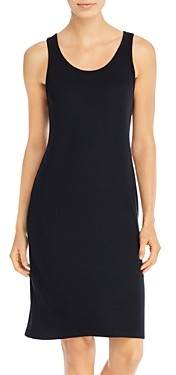 Three Dots Scoop Neck Sheath Dress