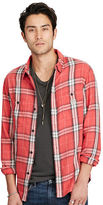 Denim & Supply Ralph Lauren Plaid Cotton Twill Sport Shirt