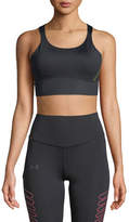 Under Armour Breathelux Perforated Mid Performance Sports Bra