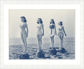 Vintage Print Gallery Vintage Swimsuit Models I Photography Print