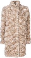Stella McCartney Fur Free Fur coat - women - Cotton/Viscose/Mohair/Wool - 38
