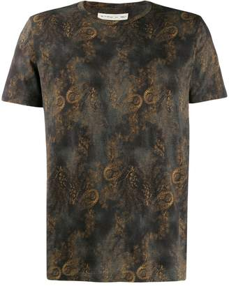 Etro distressed paisley-print T-shirt