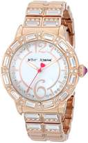 Betsey Johnson Women's BJ00274-03 Analog Display Quartz Rose Gold Watch ...